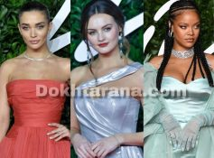 فرش سرخ جایزه مود بریتانیا/British fashion awards