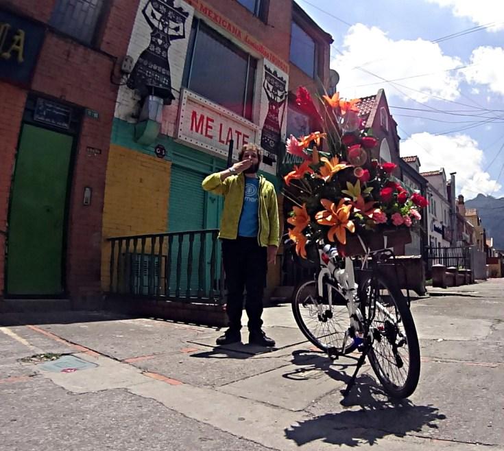 Bogota, Colombia, 25 March 2016. Triple celebration. Greek National Day, Grandma Adamantia Birthday, last day staying with Ana Milena (family lunch).