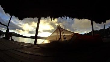 Laguna Pomacochas.. Maybe the best campsite so far