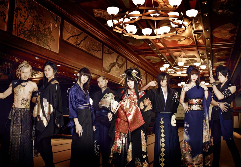 """WagakkiBand IS BACK! 1st US Tour with """"DEEP IMPACT""""!"""