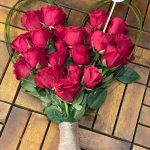 Heart bouquet 25