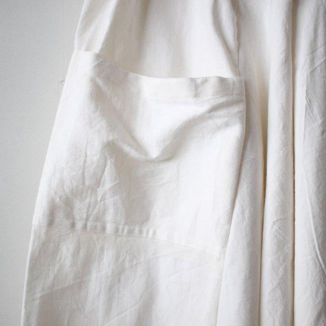 basic tarun pants LONG #white