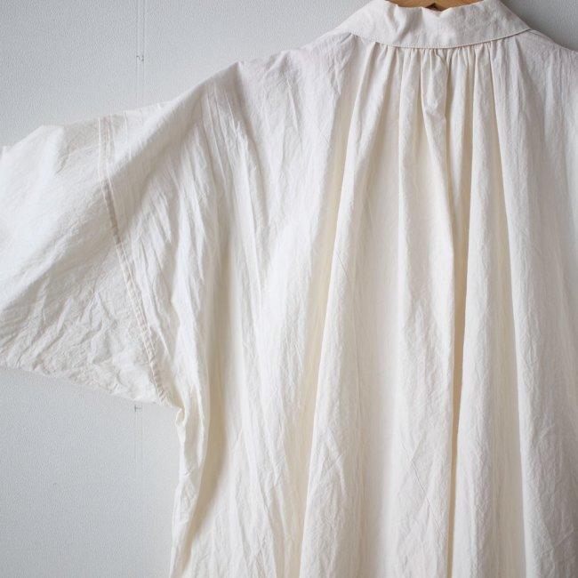 プラントロングシャツ #eggshell