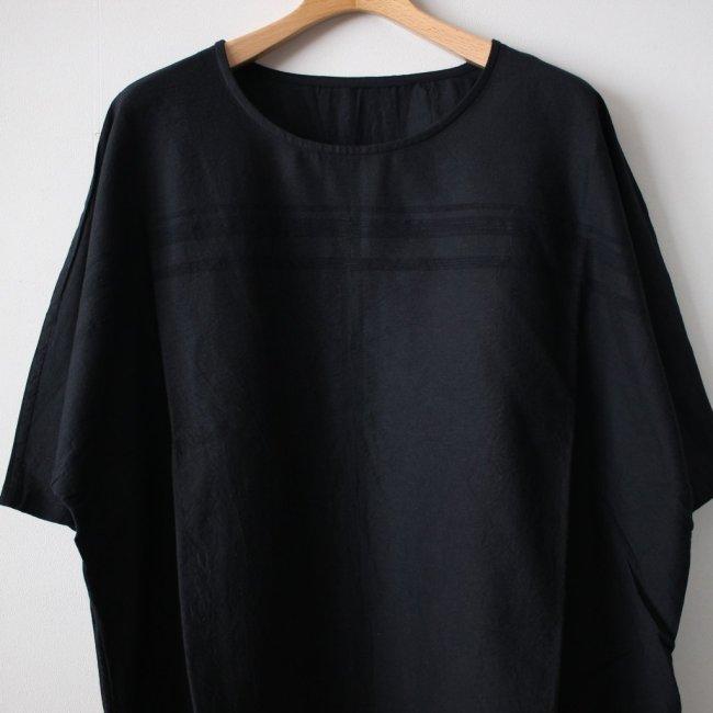 basic fuwa-T HALF SLEEVES #black 再入荷