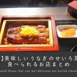 【柳川】美味しいうなぎのせいろ蒸しを食べられるお店まとめ