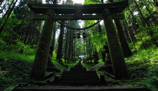 熊本一のパワースポット!「上色見熊野座神社と穿戸岩」で神秘のパワーを感じよう!