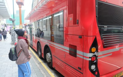 Kartu Octopus dan Bus Double Decker Hong Kong
