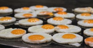 cooking eggs-delicious