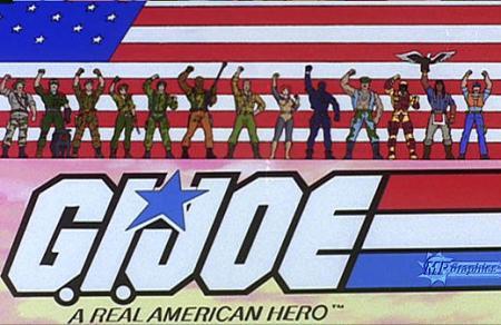 G.I.Joe - z lat 80-tych.