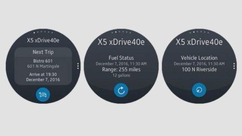 Samsung Galaxy Watch BMW Connected Uygulaması