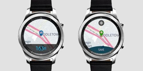 Samsung Galaxy Watch Find My Car Uygulaması