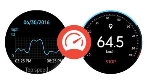 Samsung Galaxy Watch Samsung Speedometer Uygulaması