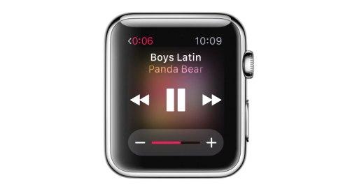 watchOS 4.3 Apple Watch Müzik Kontrolü