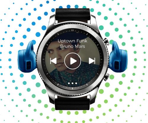 Samsung Gear S3 Müzik