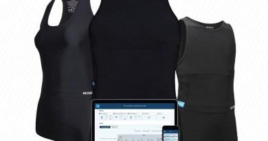 Hexoskin Giyilebilir Sensörler