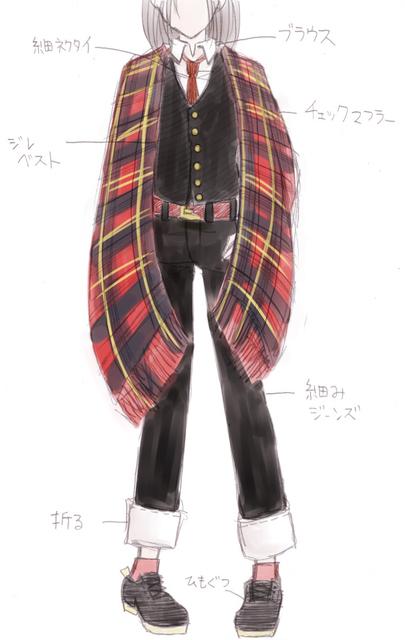 ジレ黒&マフラー赤黒&ズボン黒.jpg