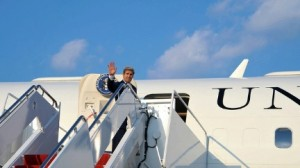 Secretary of State John Kerry departs for a Sept. 6 trip to Europe where he plans to meet with officials to discuss the Syrian crisis and other issues. (State Department photo)