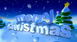 MERRY CHRISTMAS TO ALL MY READER