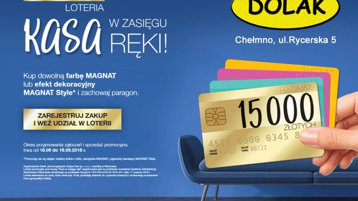"""""""Kasa w zasięgu ręki"""" – ruszyła loteria marki MAGNAT"""