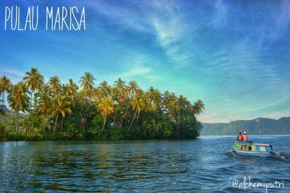 Pulau Marisa Danau Ranau