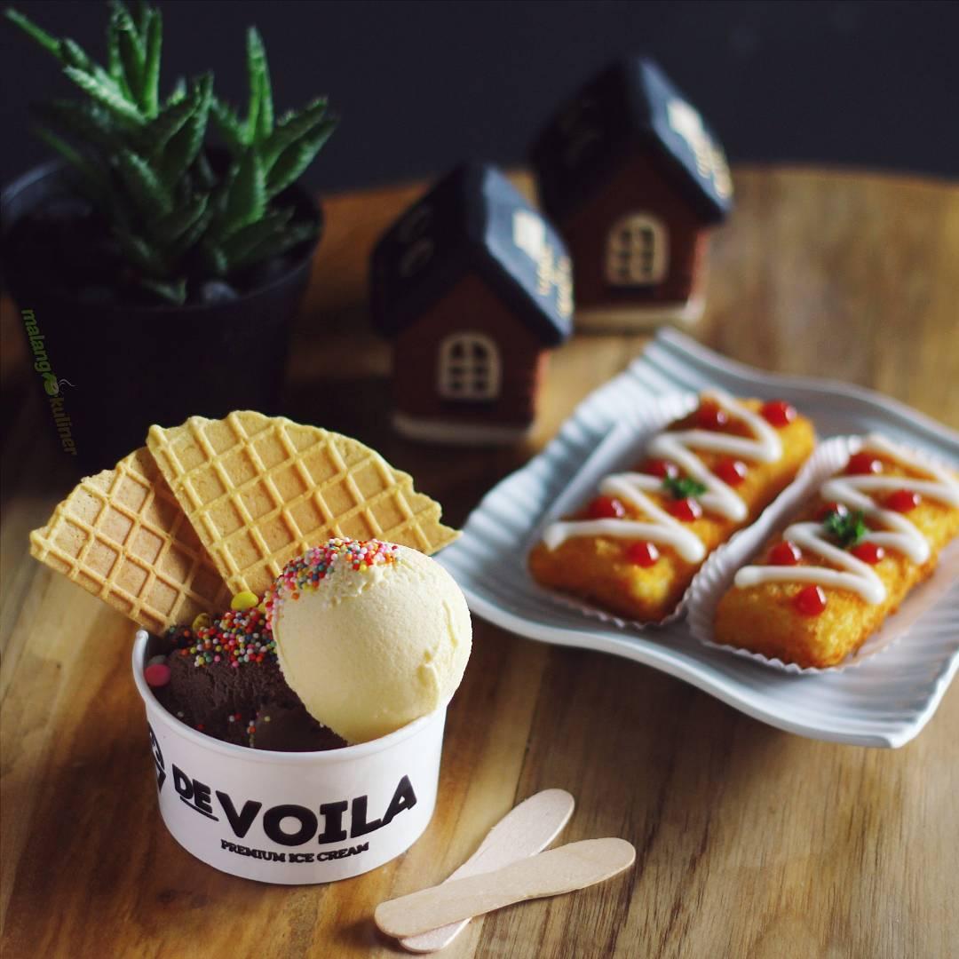 Kedai Es Krim Devoila, Devoila Malang, Malang, Kota Malang, Dolan Dolen, Dolaners Devoila via malangfoodies - Dolan Dolen