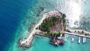 Pulau Payung, Jakarta, Dolan Dolen, Dolaners payung island pier - Dolan Dolen