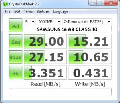 CrystalDiskMark 2.2 SAMSUNG
