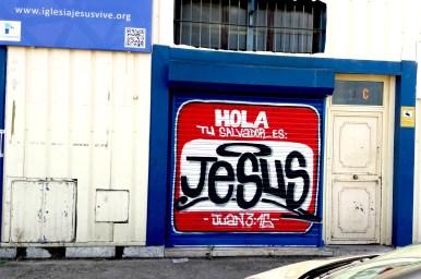 En la Iglesia Evangélica Jesús Vive en Fuenlabrada (Madrid)