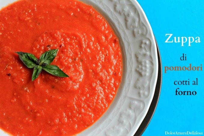 zuppa tiepida di pomodori