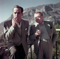 Robert Capa (Humphrey Bogart, Peter Lorre)