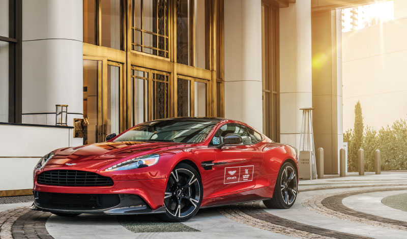 Aston Martin And Waldorf Astoria Beverly Hills Dolce Luxury Magazine - Aston martin beverly hills