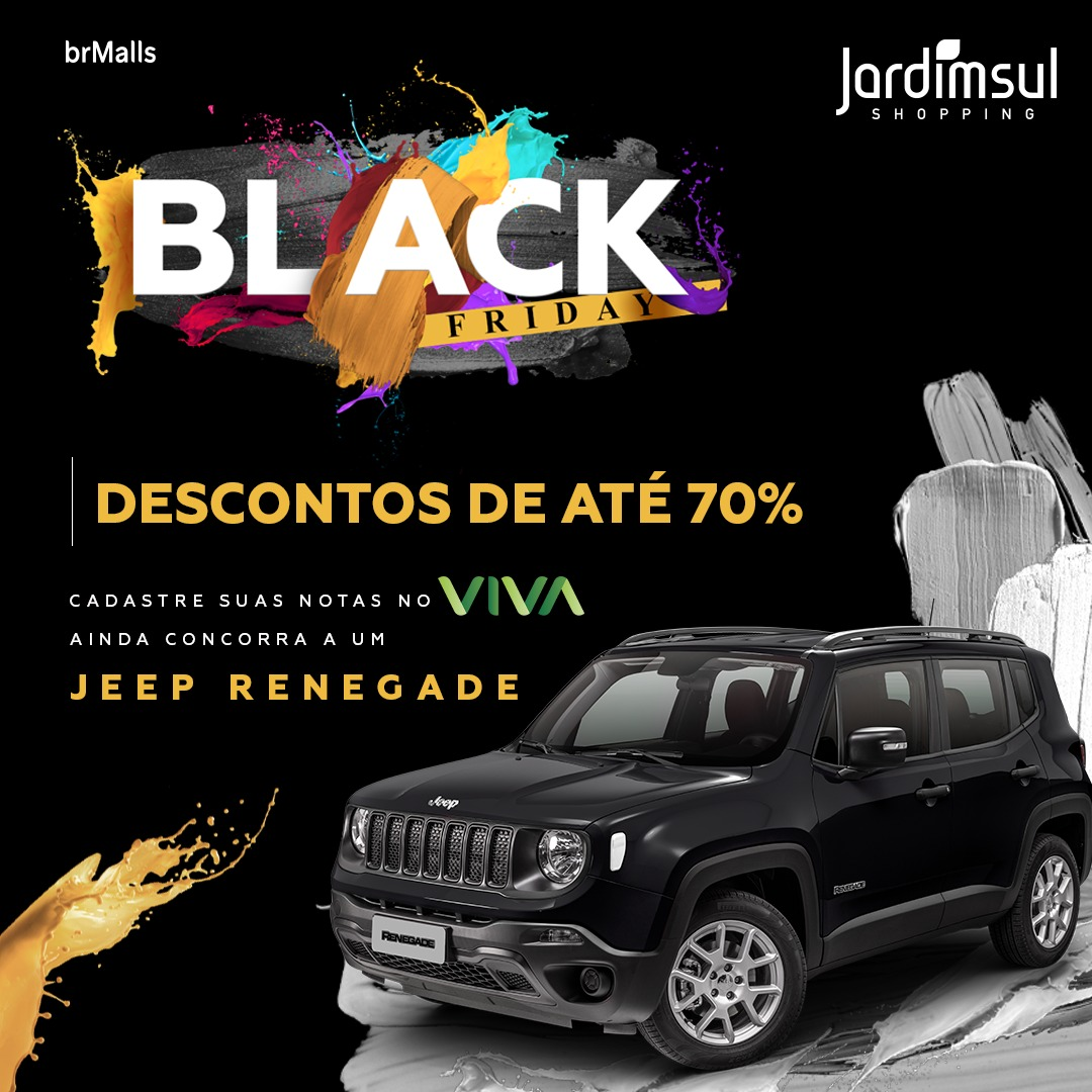 Black Friday no Shopping Jardim Sul!