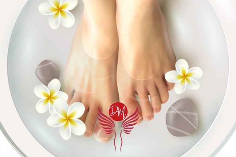 O bom e velho escalda pés