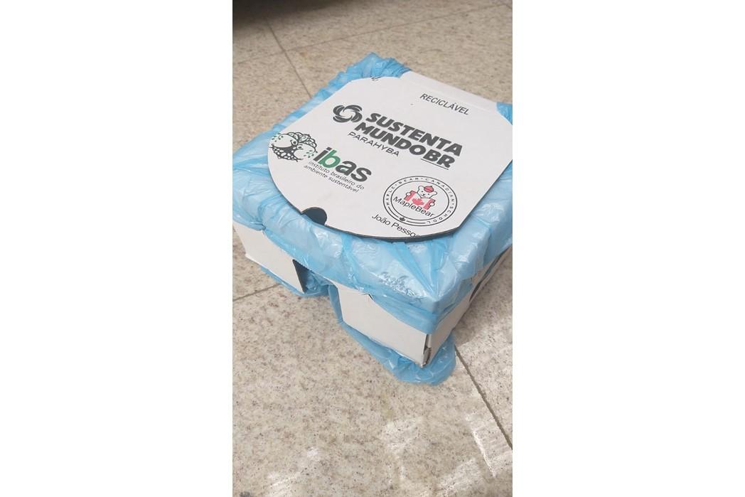 O SustentaMundoBR tem a forte parceria com as caixas Niltex, solução em suporte descartável para sacos de lixo