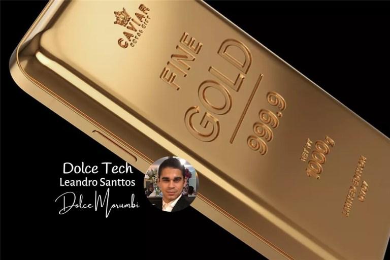 iPhone de Ouro!
