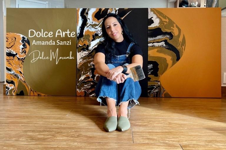 Obras da artista Amanda Sanzi serão expostas na Finlândia