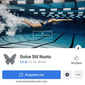 Dolcestilnuoto, pagina facebook dello shop per nuotatori