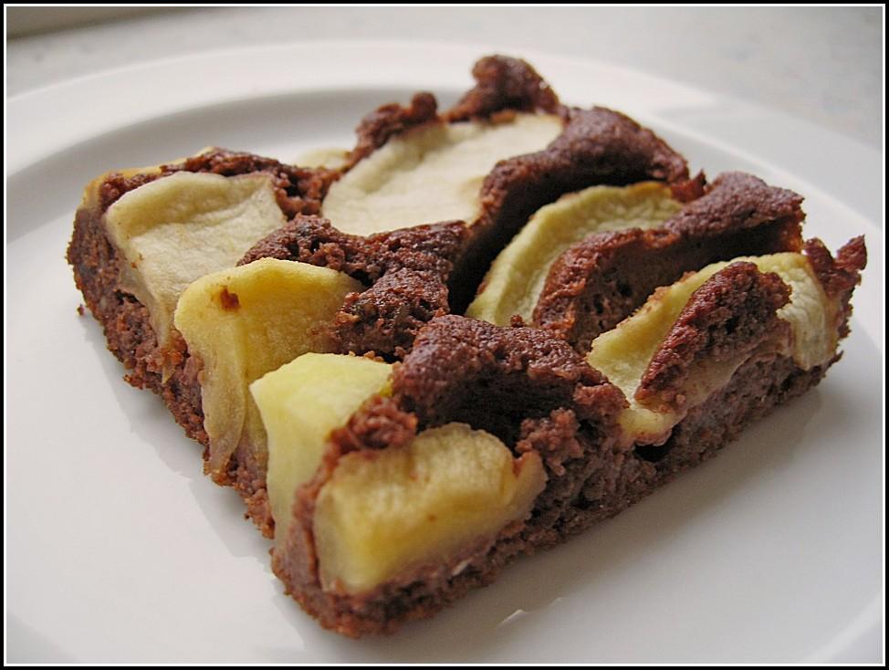 Schoko Apfel Kuchen Vegan