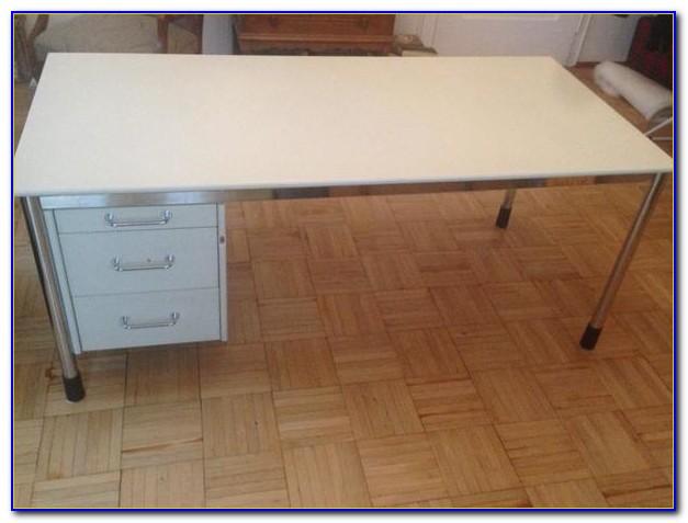 Schreibtisch Malm Aufbauanleitung