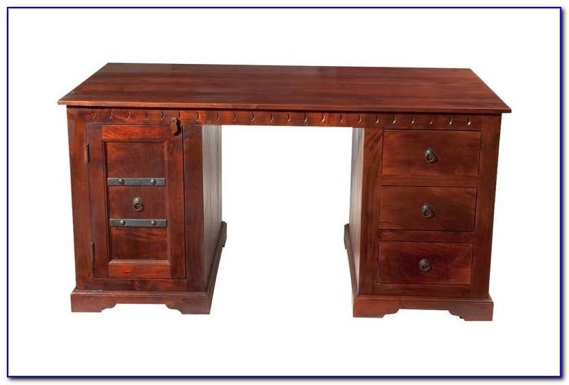 Schreibtisch Massivholz Klein