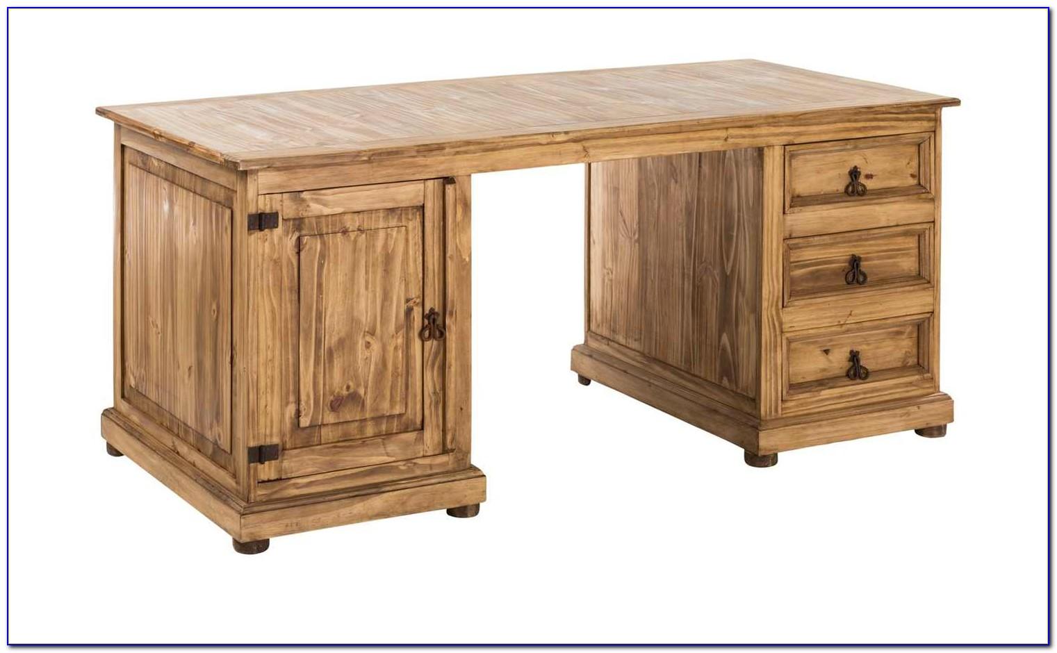 Schreibtisch Pinie Möbel