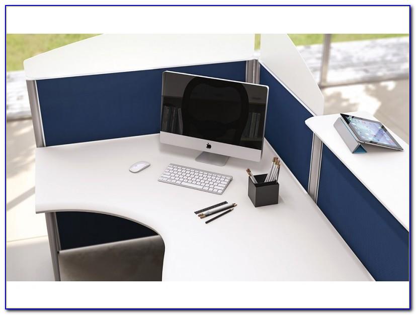 Schreibtisch Sichtschutz Seitlich