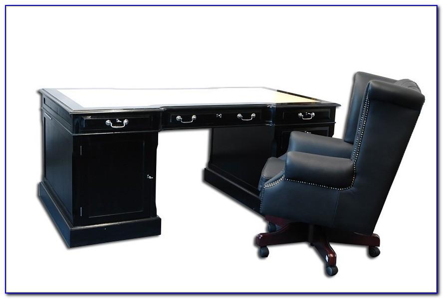 Schreibtische Mit Schwarzer Glasplatte