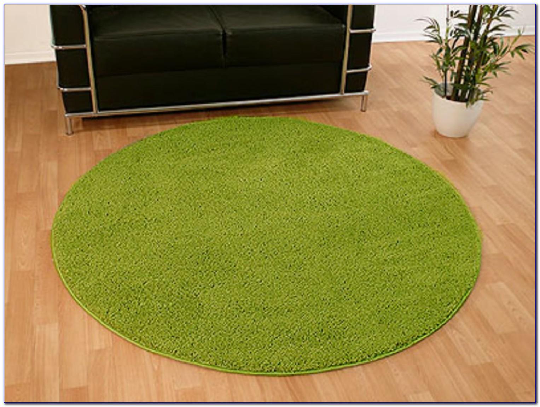 Teppich Grün Rund 120