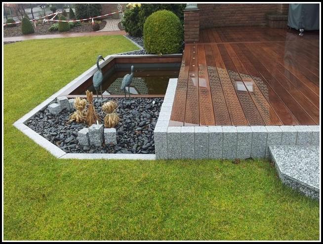 Terrasse Mit Holzfliesen