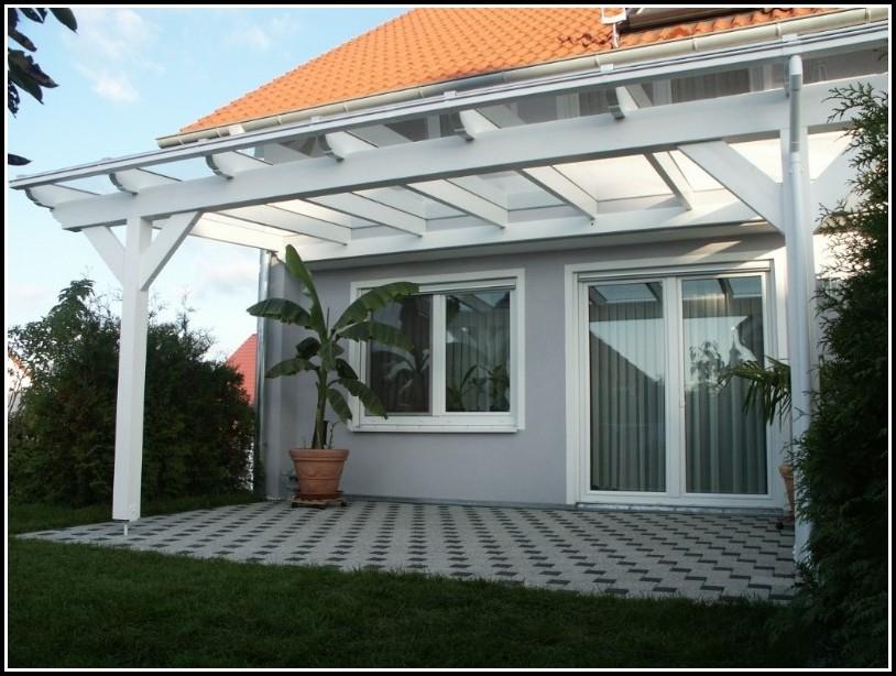 Terrassenüberdachung Selber Bauen Anleitung