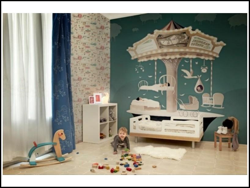 Wandgestaltung Babyzimmer Beispiele