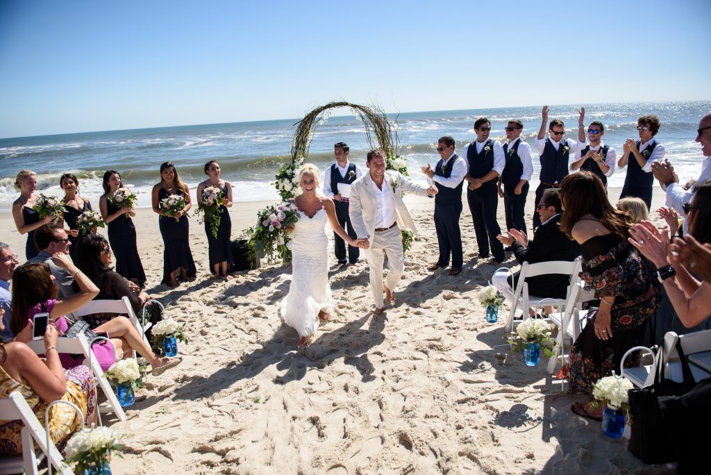 Real Wedding - Gabrielle Dalrymple - Fire Island Beach Wedding