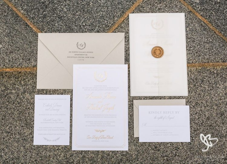 Amanda + Michael - Wedding Invite Suite