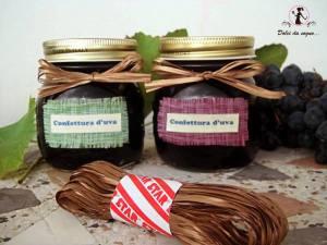 ricetta marmellata d'uva e collaborazione star